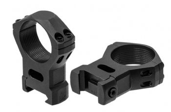 Leapers UTG Steel Picatinny Rifle Scope Mount Rings - 30mm HIGH RSW3224